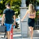 Candice Swanepoel – Seen on the streets of Miami Beach