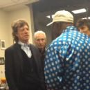 Mick Jagger, Charlie Watts and Ron Wood with Buddy Guy in Chicago -  25 June 2015