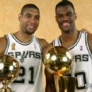 Twin_Towers_(San_Antonio_Spurs) David Robinson and Tim Duncan