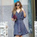 Dakota Johnson Heading To Lunch In New York  (July 20, 2018)