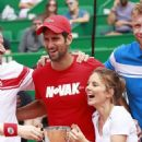 Geri Halliwell – Charity Tennis Event at Rolex Masters Tournament in Monte Carlo