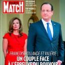 Valerie Trierweiler and Francois Hollande