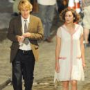 "Marion Cotillard and Owen Wilson - On ""Midnight In Paris"" Set - July 7, 2010"