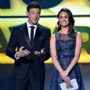 Corey Monteith and Emmy Rossum At The 18th Annual Critics' Choice Movie Awards - Show (2013) - 454 x 641