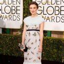 Keira Knightley At The 72nd Golden Globe Awards (2015)