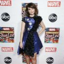 Milana Vayntrub – ABC and Marvel Honor Stan Lee in NYC - 454 x 614