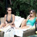 Chloe and Lauryn Goodman in Swimsuit in Los Angeles - 454 x 321