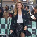 Petra Němcová – Arrives at AOL build Show in New York City - 454 x 586
