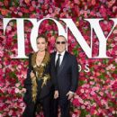 Thalia and Tommy Mottola- 72nd Annual Tony Awards - Arrivals - 416 x 600