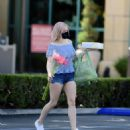 Ariel Winter – Out for some flowers in Los Angeles