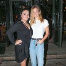 Bar Refaeli in Jeans at a friend's birthday at Kyoto in Herzliya - 454 x 681