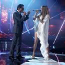 Jennifer Lopez and Marc Anthony- The 17th Annual Latin Grammy Awards - Show - 454 x 345
