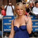 "Kaley Cuoco - Arrives At The ""Late Show With David Letterman"" In New York City, 23.06.2008."