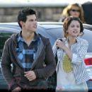 Taylor Lautner and Selena Gomez