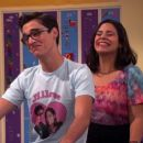 Joey Bragg and Jessica Marie Garcia