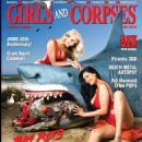 Tera Patrick on cover of Girls and Corpses - 454 x 588