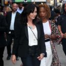 Shannen Doherty – Arrives at Good Morning America in New York City - 454 x 577