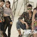 Samantha Gradoville & Emily DiDonato for Just Cavalli Spring/Summer 2014 Ad Campaign