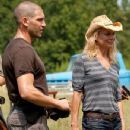 Laurie Holden and Jon Bernthal