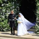 A very modern marriage: Harry and Meghan wed at St George's Chapel in Windsor in an extraordinary star-studded, multi-cultural ceremony, the likes of which the Royals have never seen - 454 x 259
