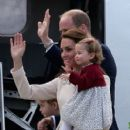 2016 Royal Tour To Canada Of The Duke And Duchess Of Cambridge - Victoria, British Columbia (October 1, 2016) - 409 x 600