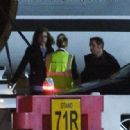 Taylor Swift Arriving at Luton private terminal in London - 454 x 318