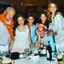 Luciana Gimenez and Marcelo de Carvalho with his children and his father - 454 x 454