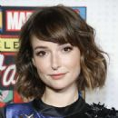 Milana Vayntrub – ABC and Marvel Honor Stan Lee in NYC - 454 x 563