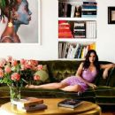 Padma Lakshmi - AD Architectural Digest Magazine Pictorial [India] (September 2013) - 454 x 353
