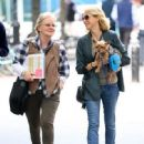 Naomi Watts is all smiles while out and about in New York City, New York with her mom Myfanwy Edwards Roberts on October 17, 2016 - 448 x 600