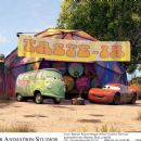 Fillmore (voiced by George Carlin) and McQueen (voiced by Owen Wilson) in Buena Vista Pictures Distribution's Cars - 2006 - 454 x 366