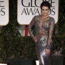 Lea Michele: 2012 Golden Globes Marchesa Marvelous