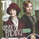 Laura Carmichael, Michelle Dockery - TV Magazine Cover [United Kingdom] (September 2014)