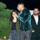 Kourtney Kardashian out for dinner at Nobu in Malibu