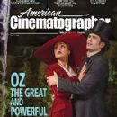 Mila Kunis, James Franco - American Cinematographer Magazine Cover [United States] (April 2013)