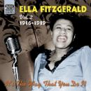 Ella Fitzgerald, Volume 2: It's the Way That You Do It, 1936-1939