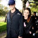 Aaron Jeffery and Zoe Naylor