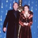 Kevin Spacey and Juliette Binoche attend the 69th Annual Academy Awards ceremony March 24, 1997 - 454 x 682