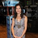 Jill Hennessy Rings The NYSE Opening Bell