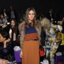 Olivia Palermo: attends the Noon By Noor Fall 2013 fashion show during Mercedes-Benz Fashion at The Studio at Lincoln Center