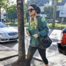 Nicole Richie on her way to a gym in Studio City, 06-12-10