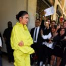 Kylie Jenner – Arrive at the Louis Vuitton Menswear SS 2019 Show in Paris