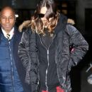 Jared Leto arrives at the BBC Studios. January 29, 2014