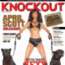 April Scott - In Knockout Magazine January 2010 - 454 x 615