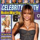 Tila Tequila - Celebrity Sleuth Magazine Cover [United States] (January 2010)