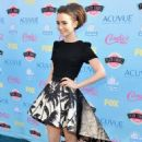 Lily Collins at the 2013 Teen Choice Awards (August 11)