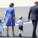 Prince Windsor and Kate Middleton  arrived at Berlin Tegel Airport - 454 x 330