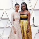 Letitia Wright and Danai Gurira At  the 91st Annual Academy Awards - 400 x 600