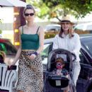 Behati Prinsloo – Out to lunch in Sherman Oaks