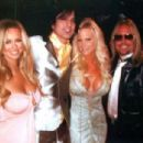 Vince Neil and Lia Gerardini w/ Tommy Lee
